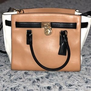 Michael Kors Tri-toned handbag